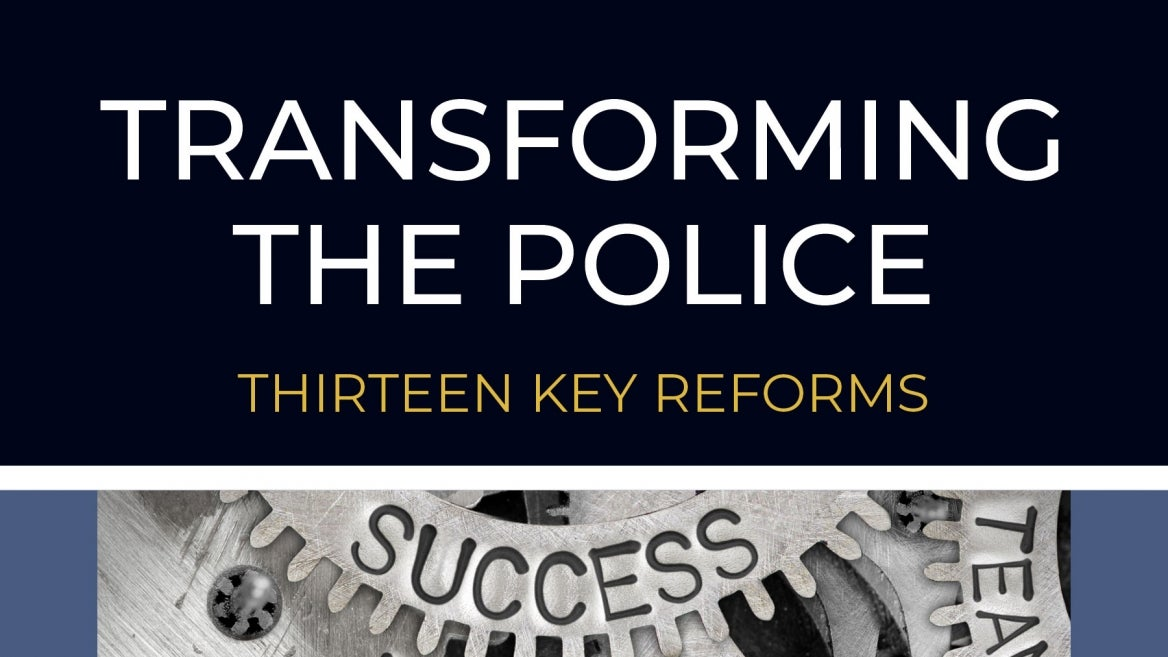 """Transforming the Police"" Charles Katz Edward Maguire criminology criminal justice Arizona State University"