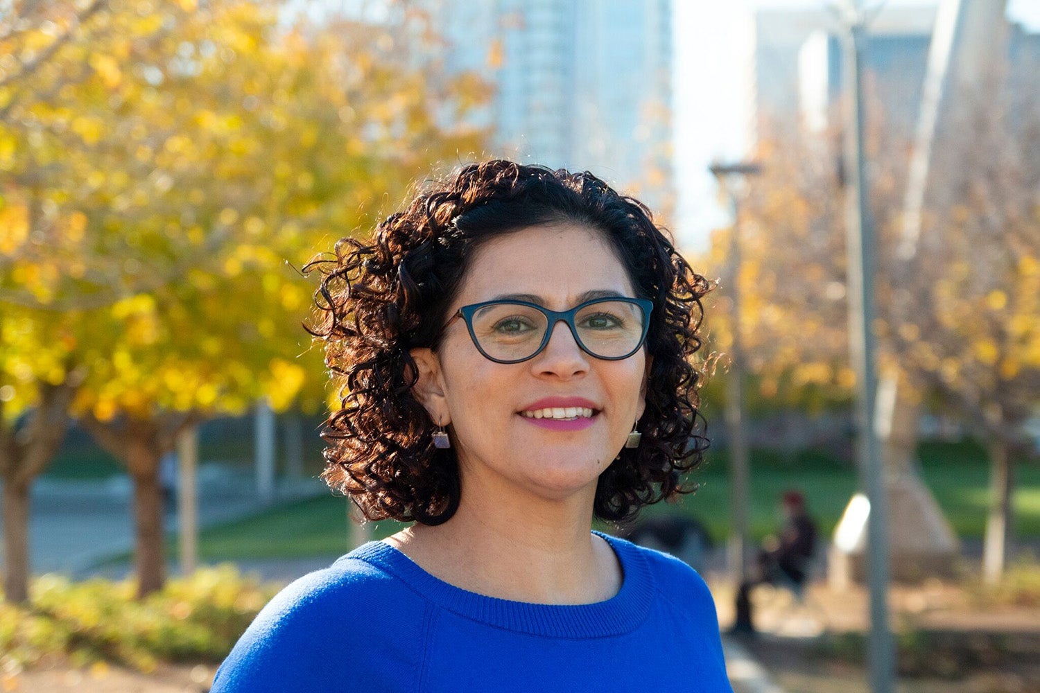 2018 Robert Wood Johnson Foundation Health Policy Research Scholar, Mónica Gutiérrez.