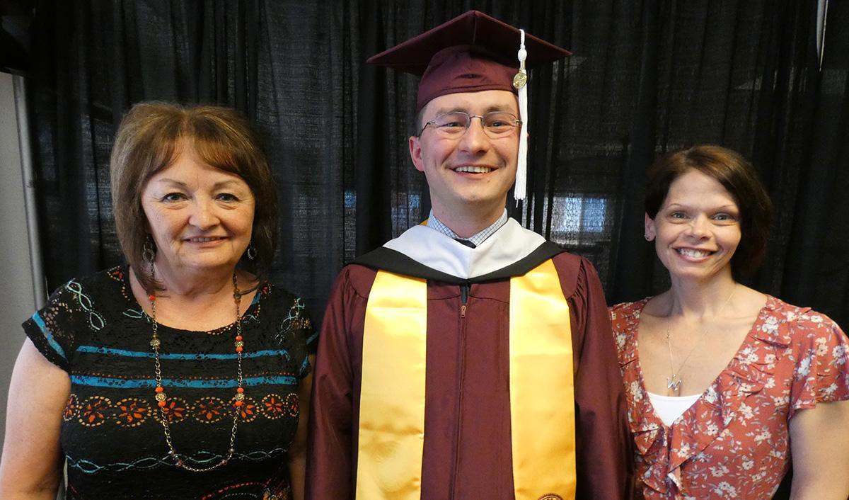 Criminal Justice graduate Nicholas Costello