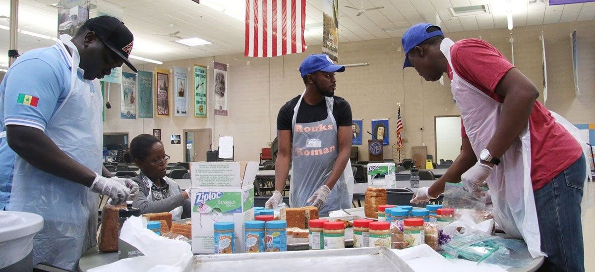 volunteering at homeless center sparks ideas for visiting african