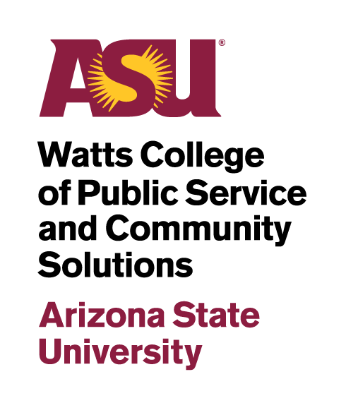 ASU Watts College of Public Service and Communit Solutions logo